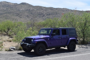 Purple Jeep 6x4 size